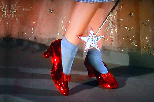 ruby slippers2  The Wizard of Oz Celebrates its 70th Anniversary, and Its All About the Shoes