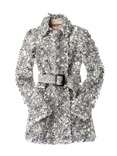 Burberry's Crystal Trench