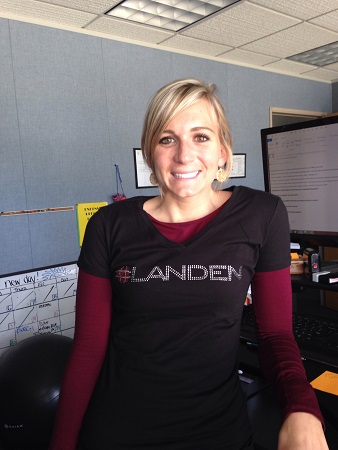 Landen blog photo 2 Strapping Good Sparkle with Landen Strapping Corp.!