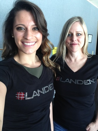 Landen blog photo Strapping Good Sparkle with Landen Strapping Corp.!